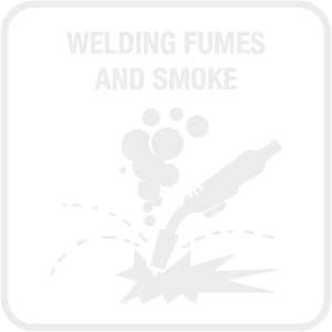 Welding Fumes and Smoke Icon