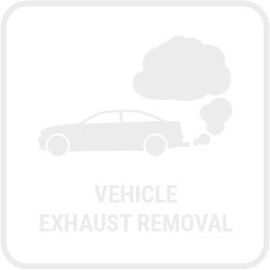 Vehicle Exhaust Removal Icon
