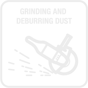 Grinding and Deburring Dust Icon