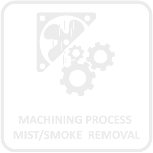 Machining Process Mist and Smoke Removal Icon