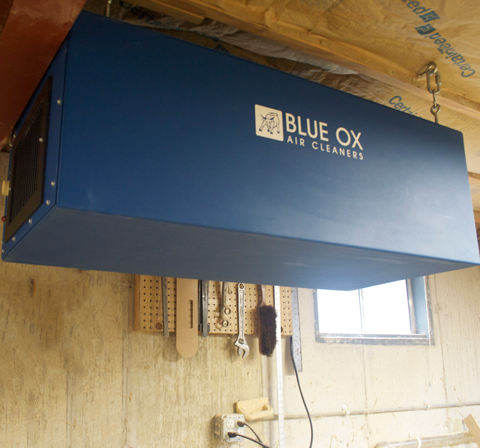 Residential Woodshop Dust Control