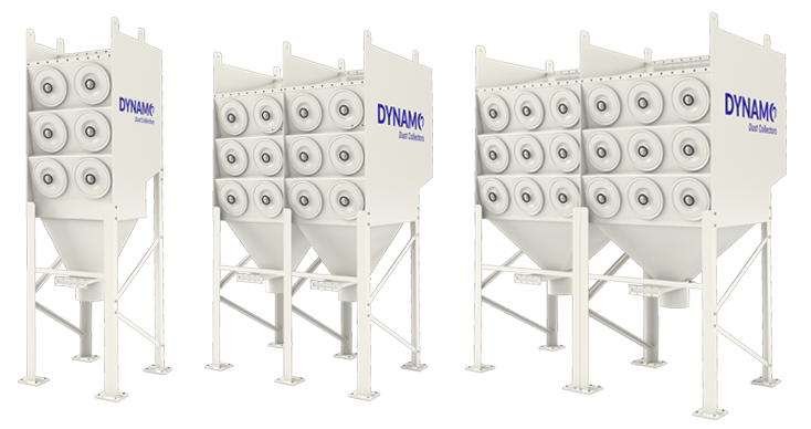 Dynamo Dust Collector Units