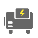 Generator Exhaust Removal Icon