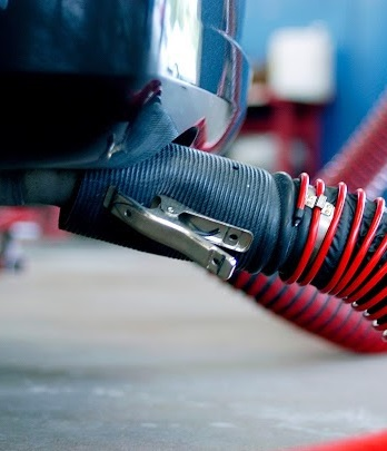 Vehicle Exhaust Removal System